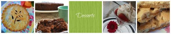 Desserts Header