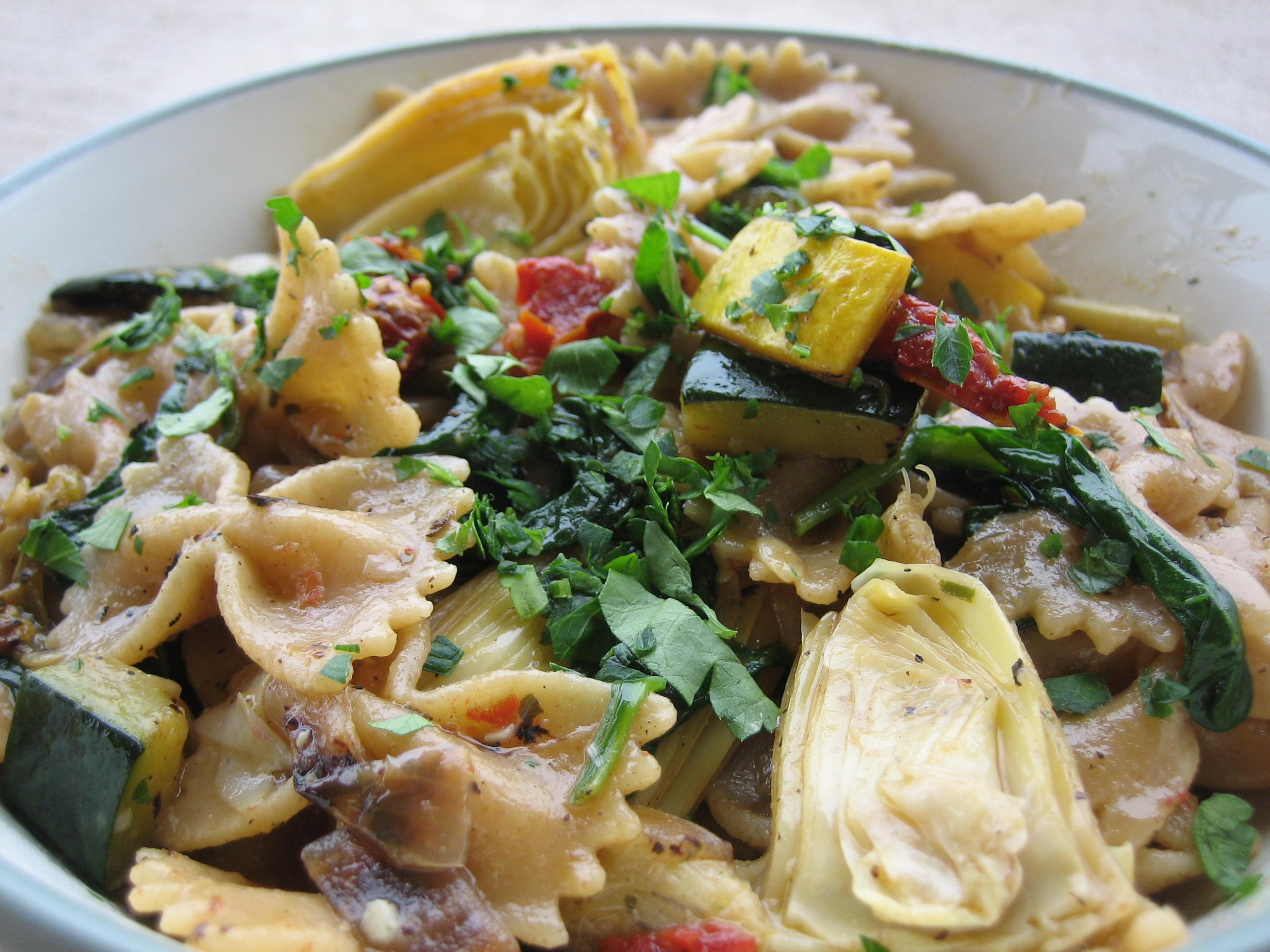 pasta eggplant a few days ago que pasta italia eggplant bow tie pasta ...