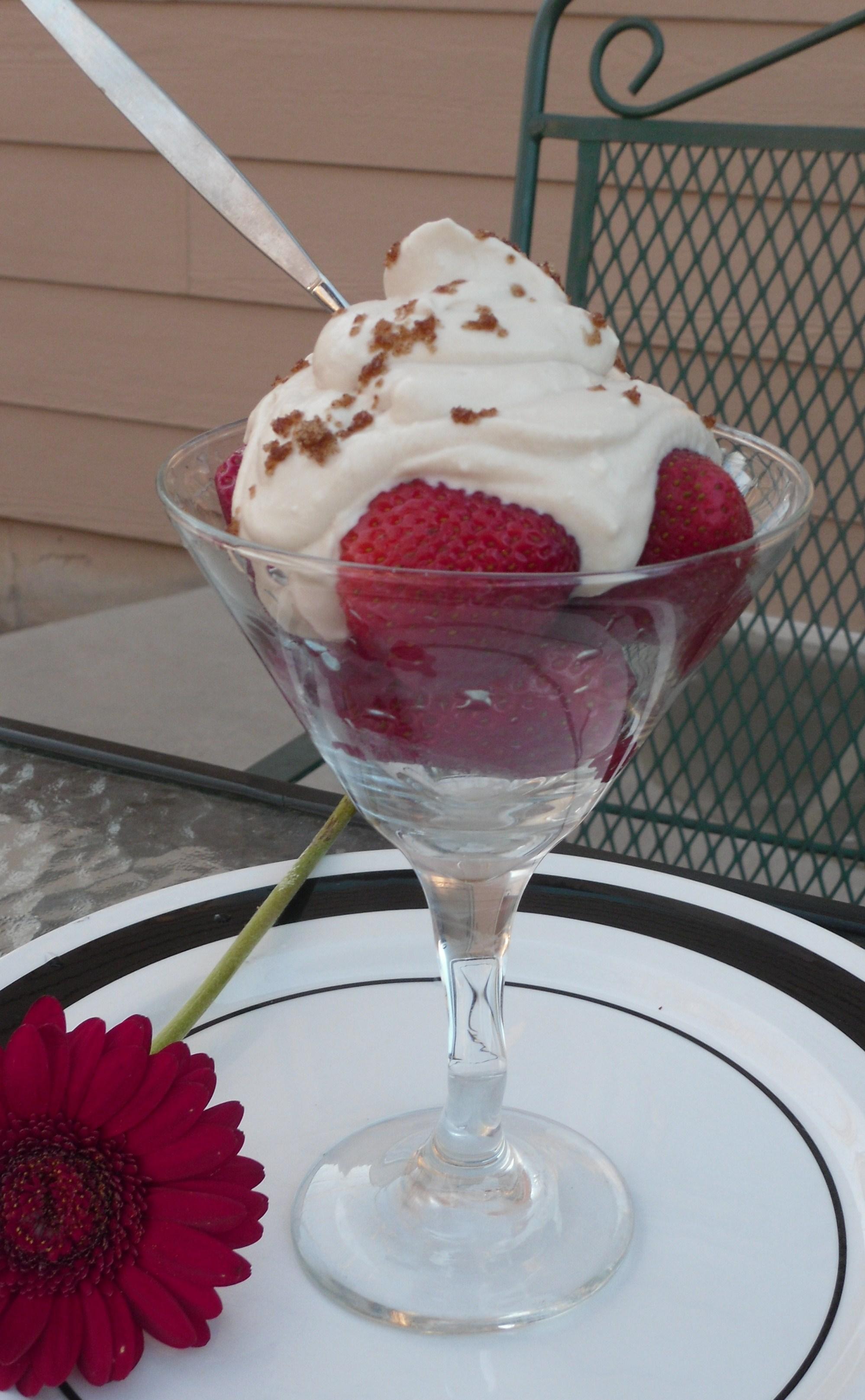Romanoff Dessert