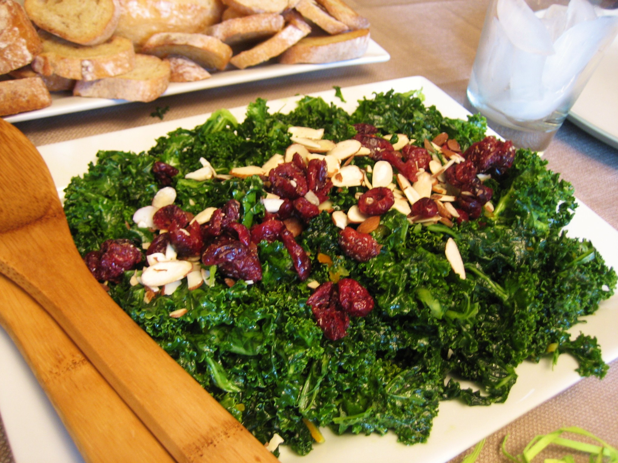 Whole Foods Kale Salad With Cranberries And Almonds