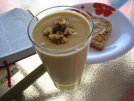 Banana Butternut Squash Smoothie