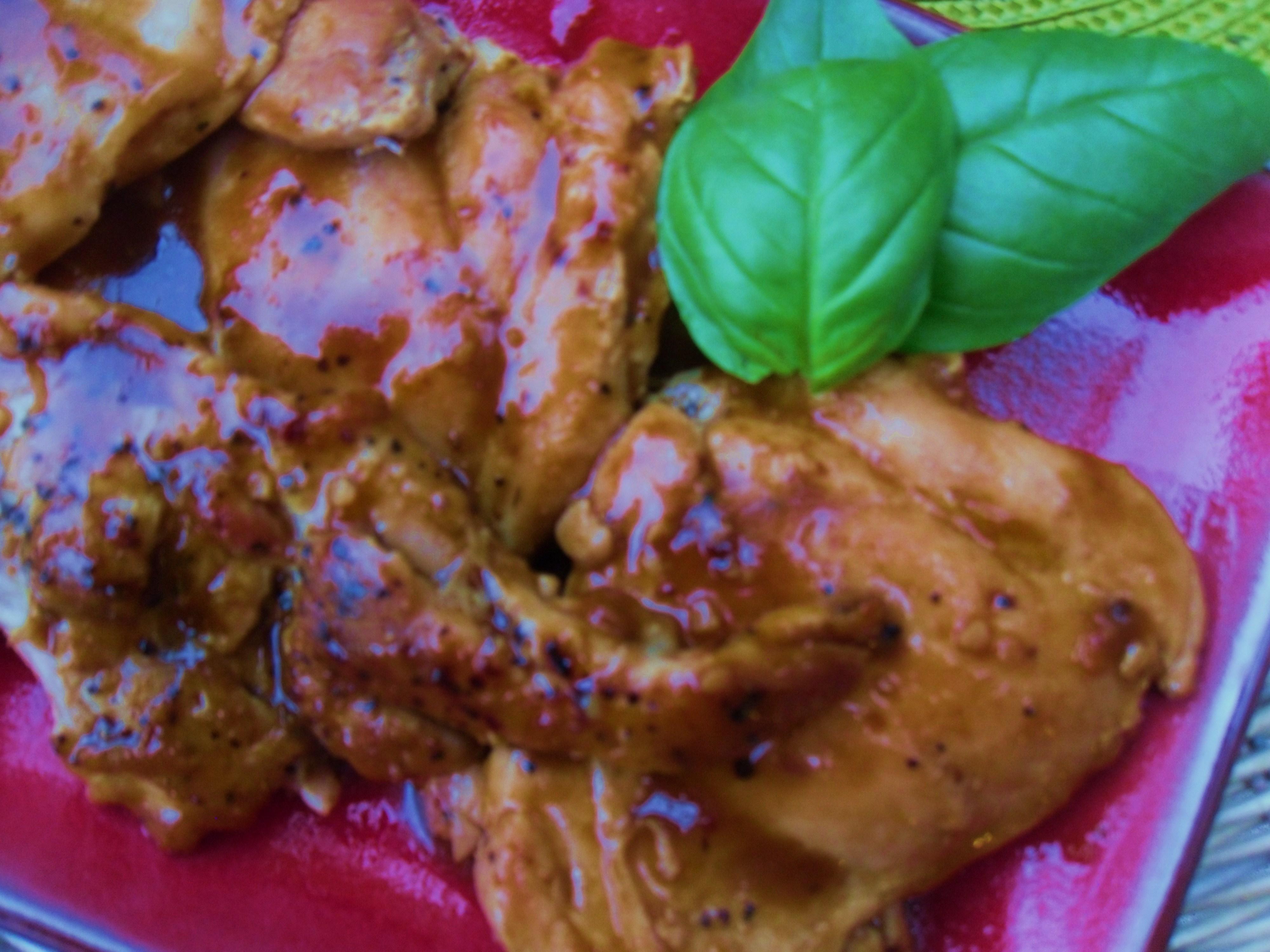 Apricot- Balsamic Chicken Recipe — Dishmaps