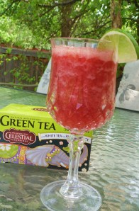 Becky's White Tea Fruit Slushy