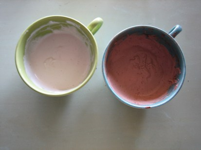 Coconut & Chocolate Coconut Cream Ready for Dipping