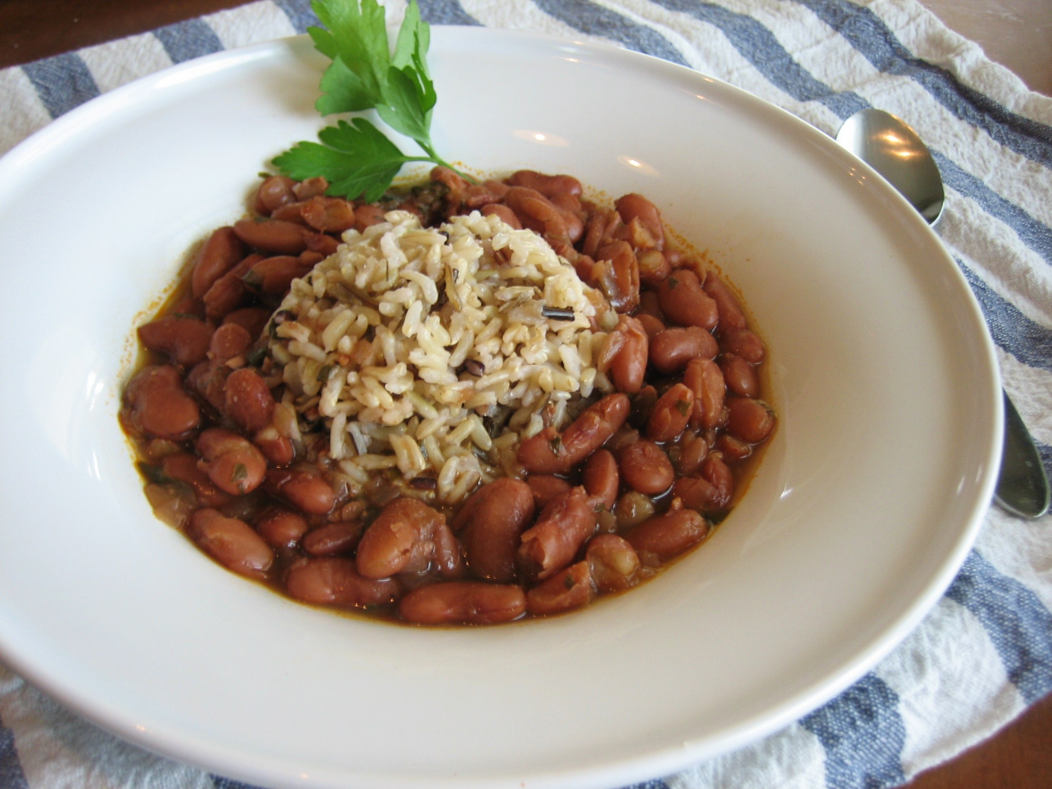 vegetarian red beans and rice | We Laugh, We Cry, We Cook