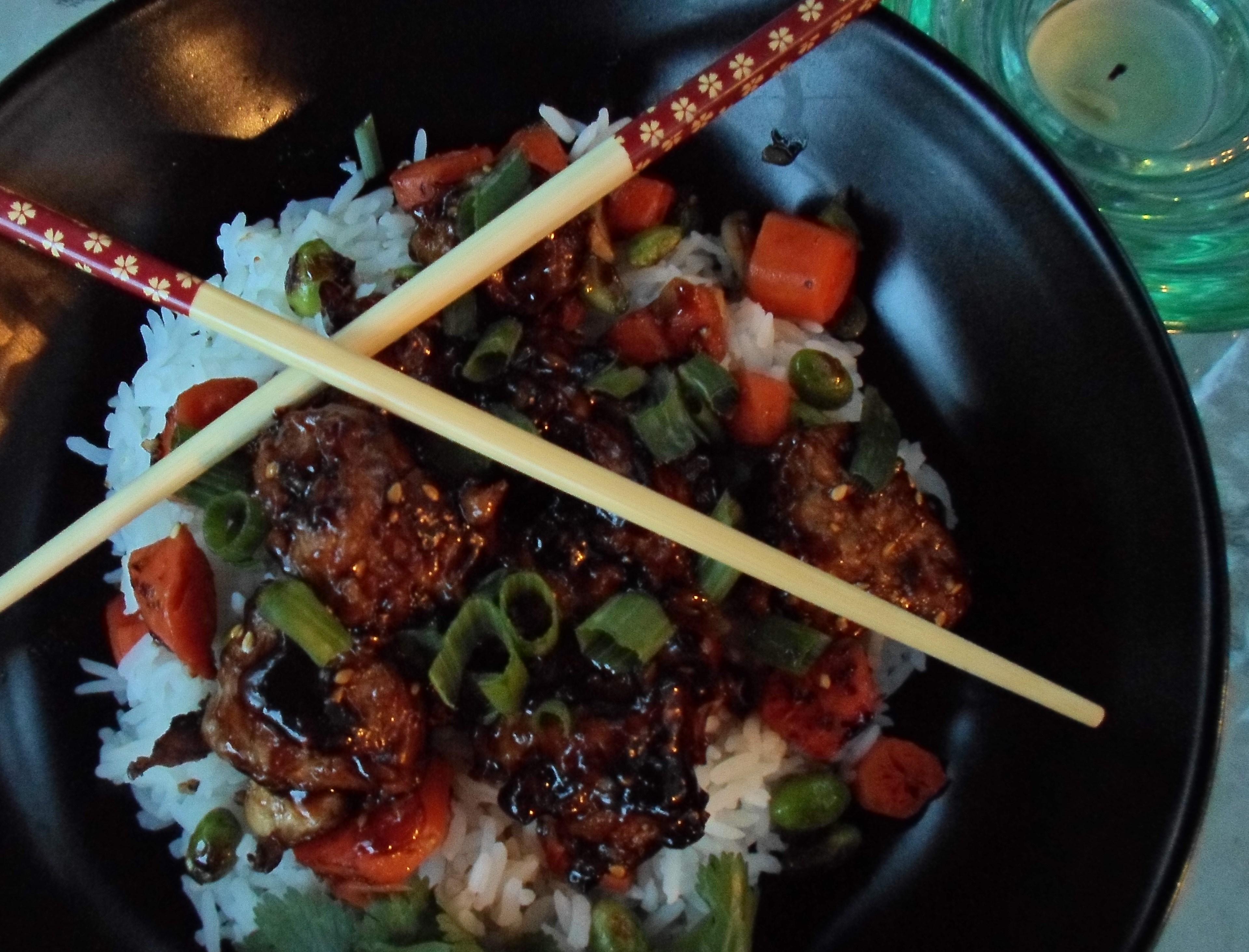 Sweet N Savory Asian Meatballs