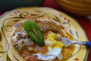 huevos rancheros, choc veggie bread 017