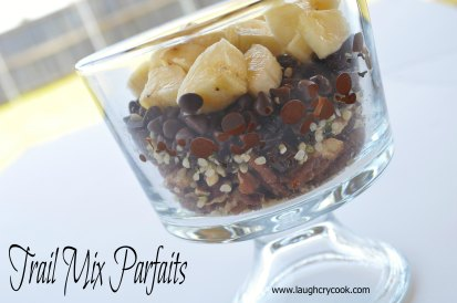 Trail Mix Parfaits