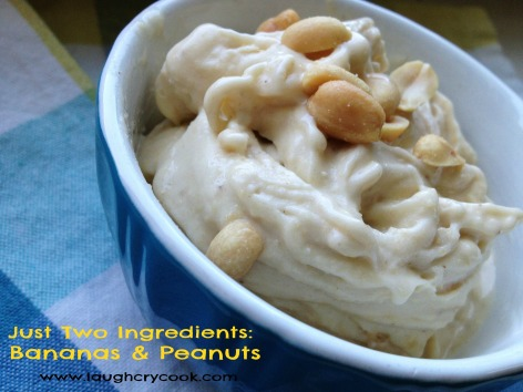 Peanut Banana Soft Serve