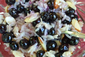Sweet & Buttery Blueberry Rice Bowl 008
