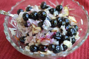 Sweet & Buttery Blueberry Rice Bowl 011