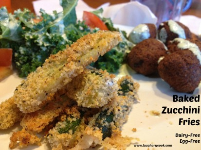 Baked Zucchini Fries - Laugh, Cry, Cook
