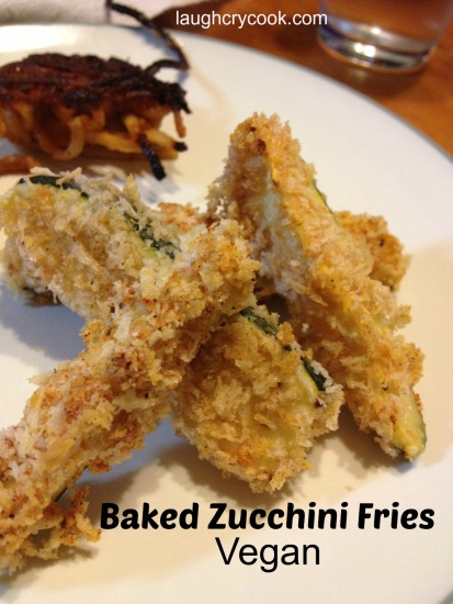 Zucchini Fries Vegan - Laugh, Cry, Cook