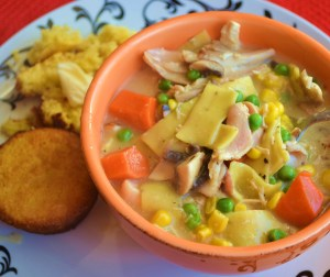 chicken noodle soup 011