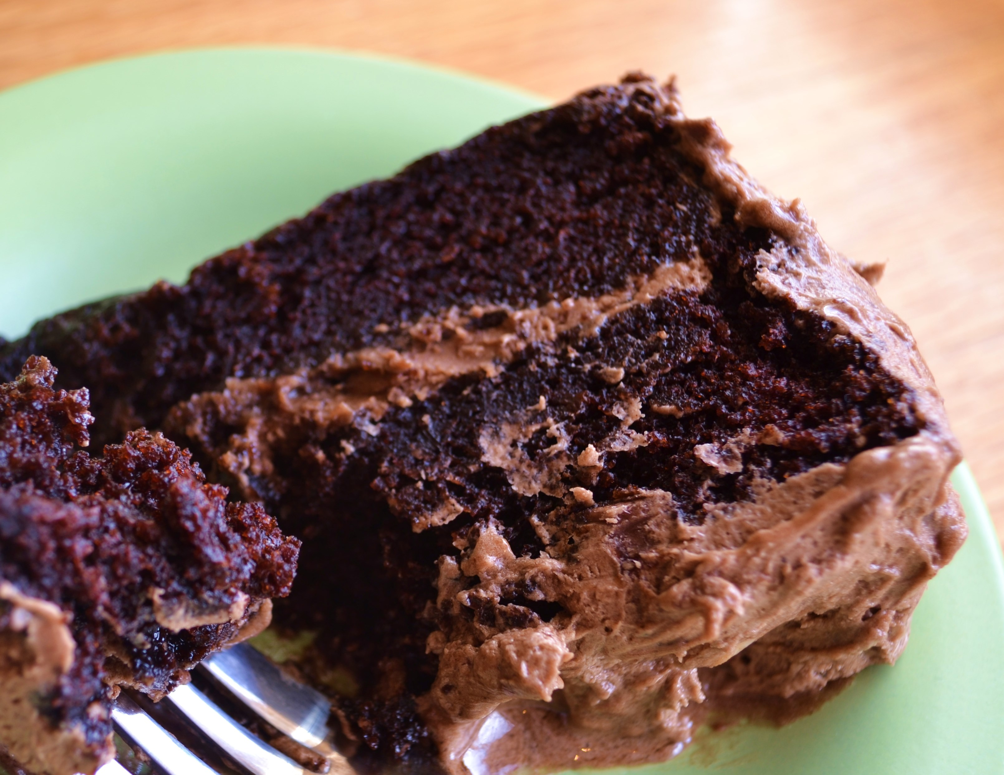 MOIST Chocolate Layer Cake with Buttery Mocha Frosting (& Story of My ...