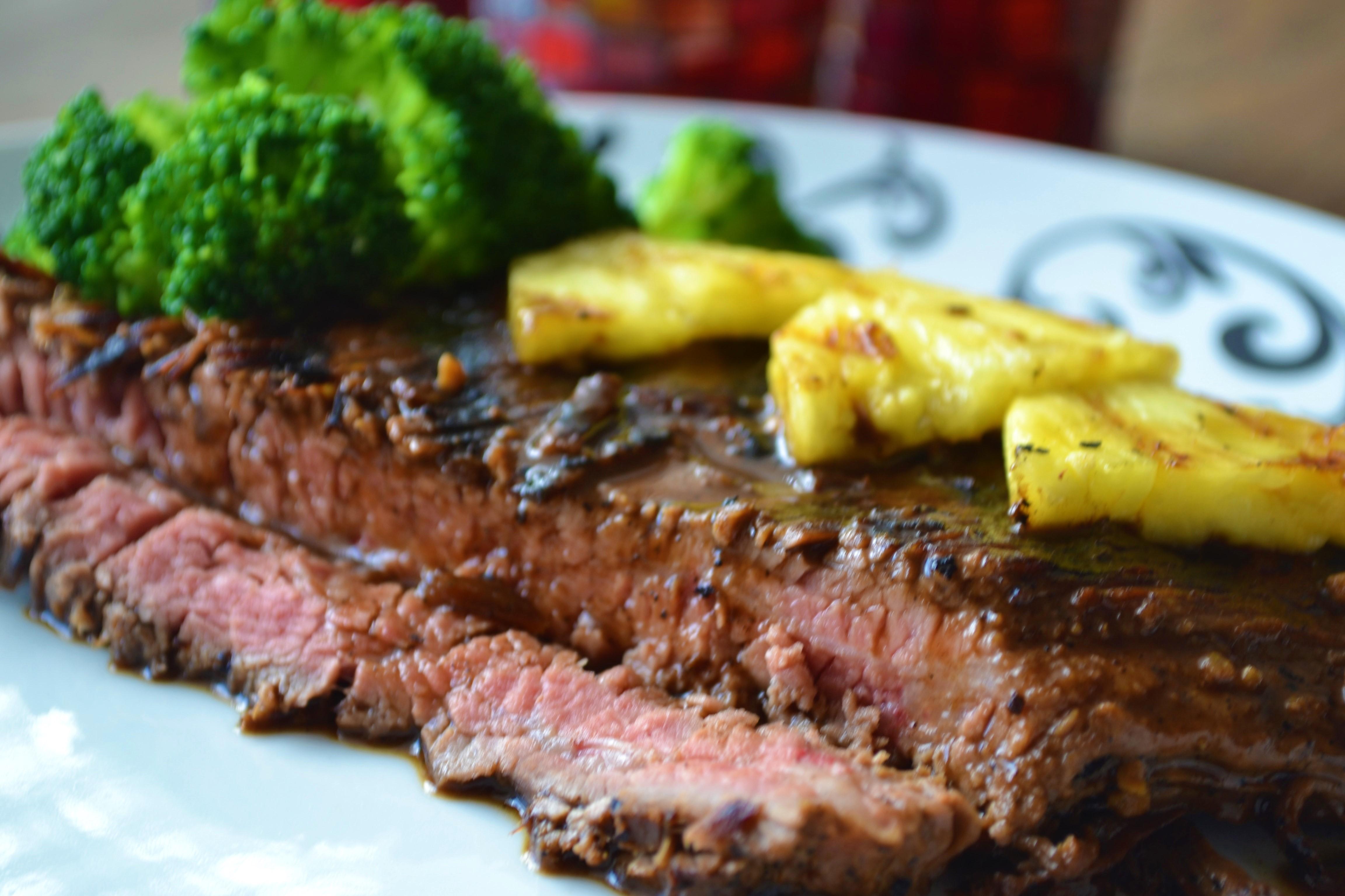 Perfect Grilled Steak 1 flank steak. grill seasoning