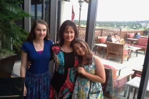 My beautiful sister and nieces